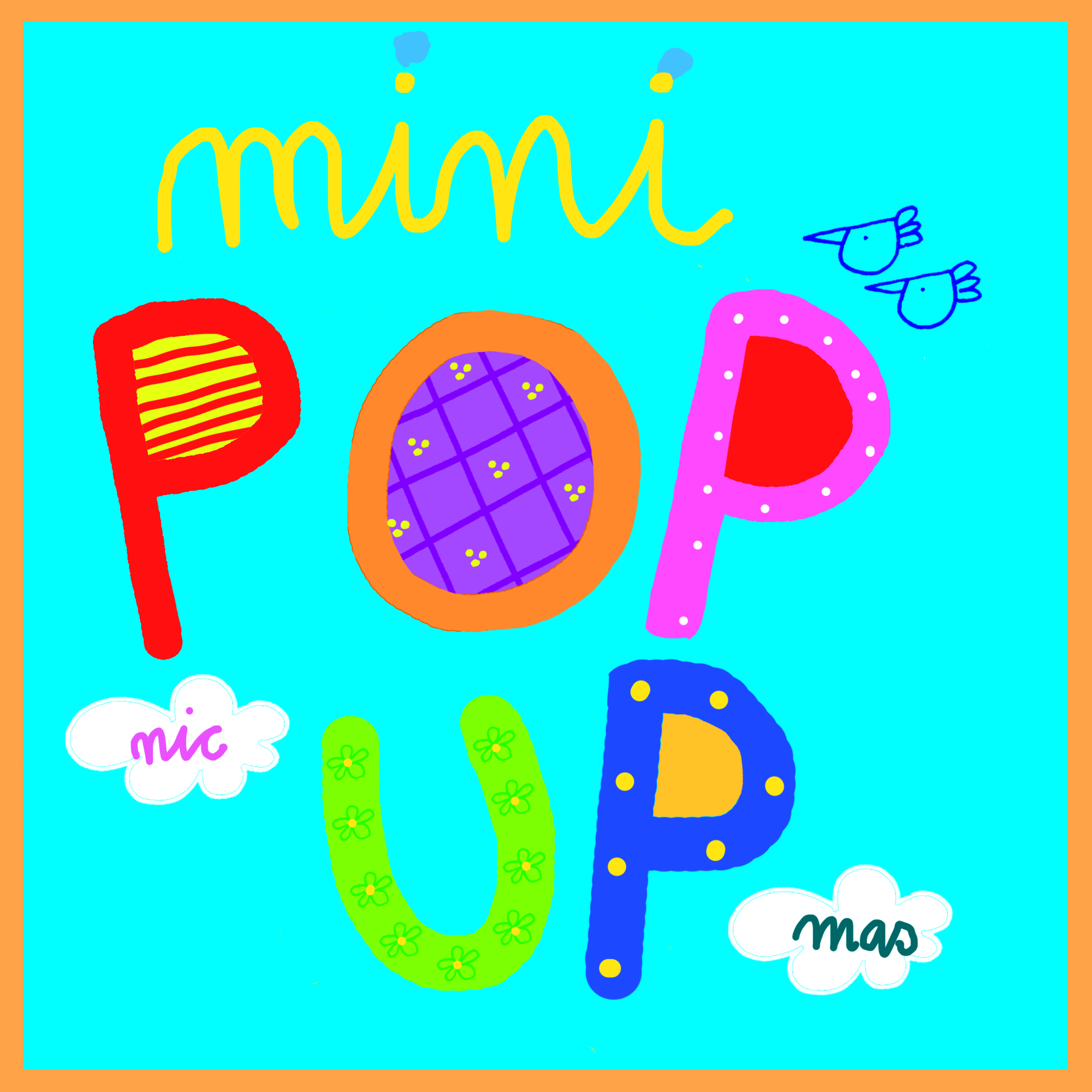 cover mini pop up